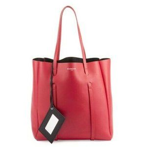 Balenciaga Bag Everyday Small Red Leather Tote